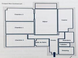 Appartement a louer colombes - 4 pièce(s) - 77 m2 - Surfyn